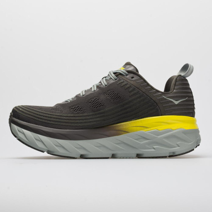 Hoka One One Bondi 6 Men's Black Olive/Pavement