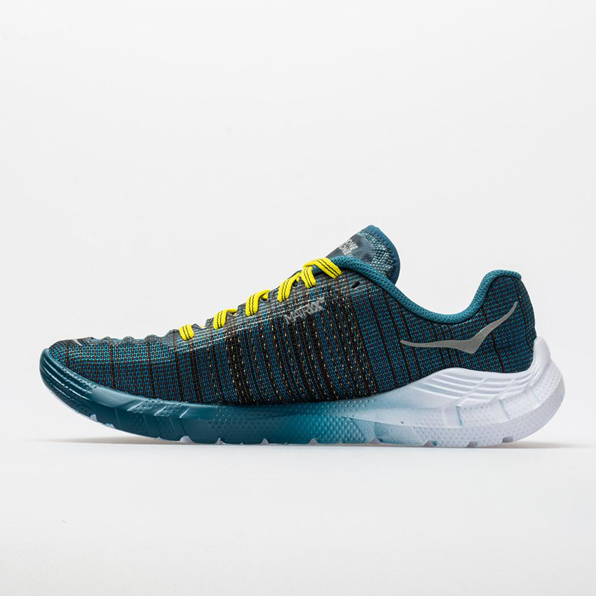 Hoka One One EVO Rehi Men's Cyan/Citrus