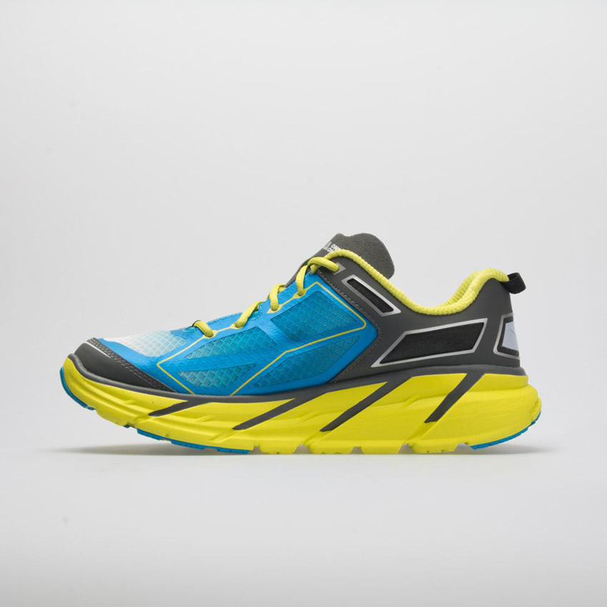 Hoka One One Clifton 1 Men's Citrus/Cyan/Grey